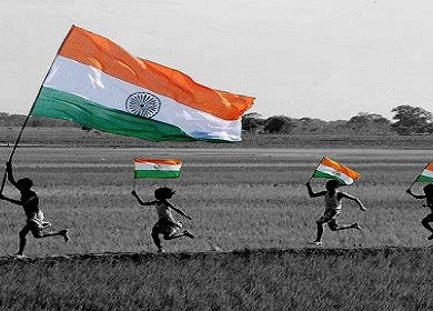 indian flag proud