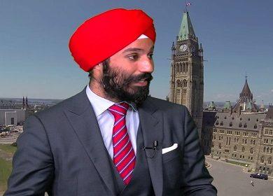 MP raj grewal canada