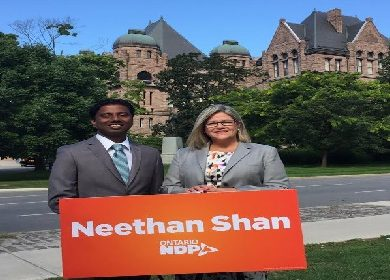 Neethan Shan commits to First Bill as MPP